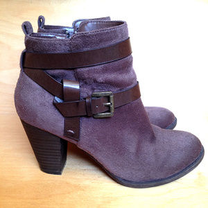 Coach and Four Brown Liza Zip-Up Ankle Boots | 7